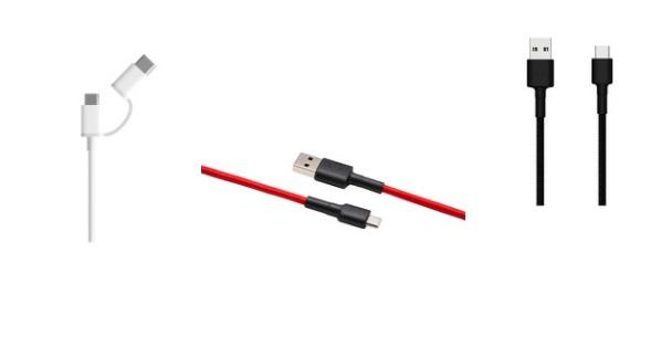 xiaomi şarj kablo